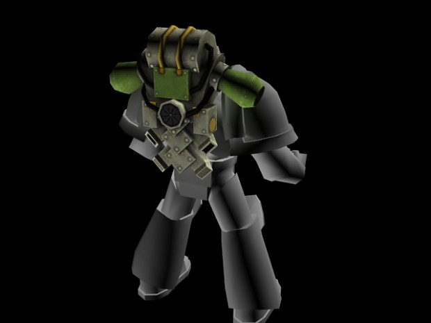 Legion MkII Power Armour Backpack