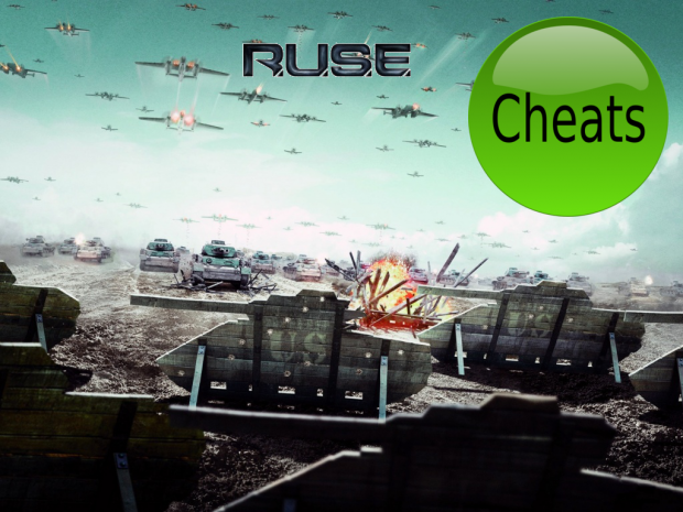 R.U.S.E cheat mod V0.9