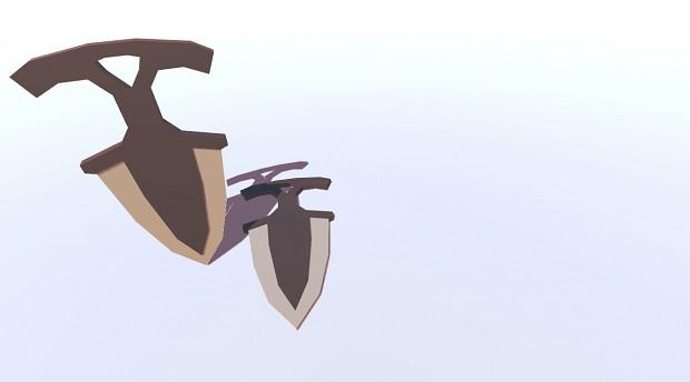 Shadow Dagger (Normal Skin)