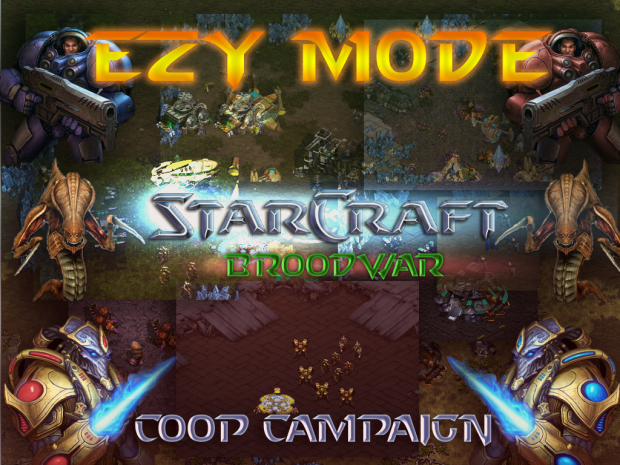 Starcraft Co-op Campaign - EZY Mode
