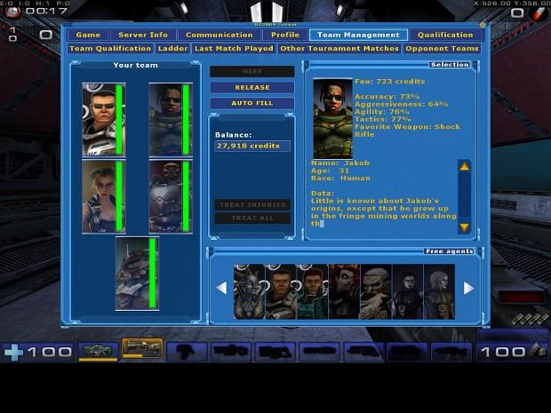 UT2004 LAN Co-op Tournament - Beta 1