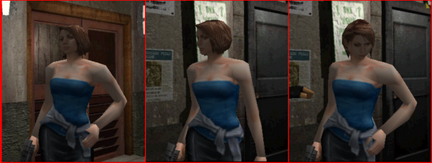 Jill RE5/RER face skin (Julia Voth) for RE3 v1.2.1