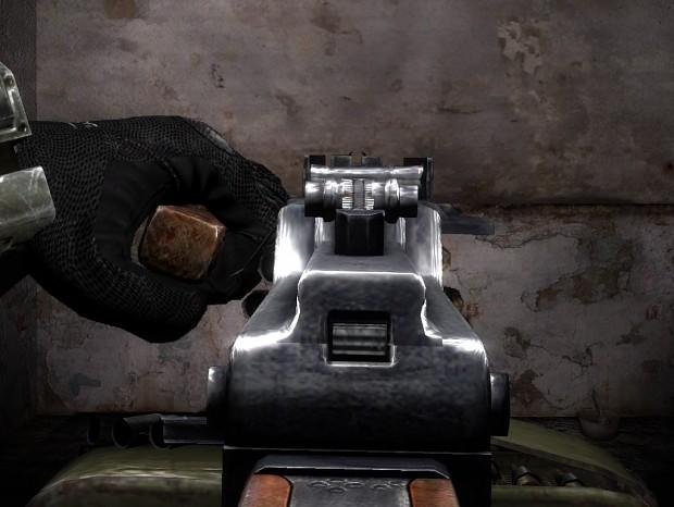 RP-74 / PKM + iron sights