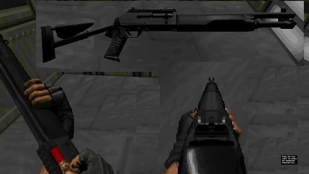 M1014 Automatic-shotgun v1e