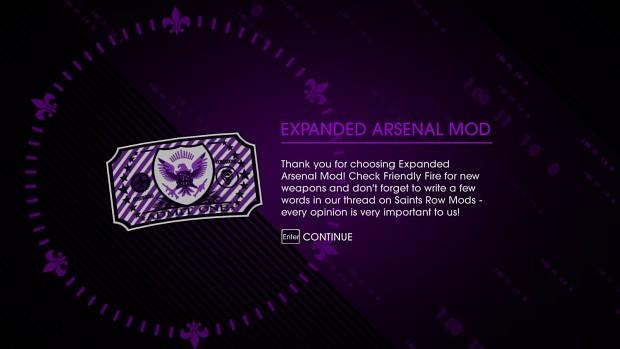 Expanded Arsenal Mod V3
