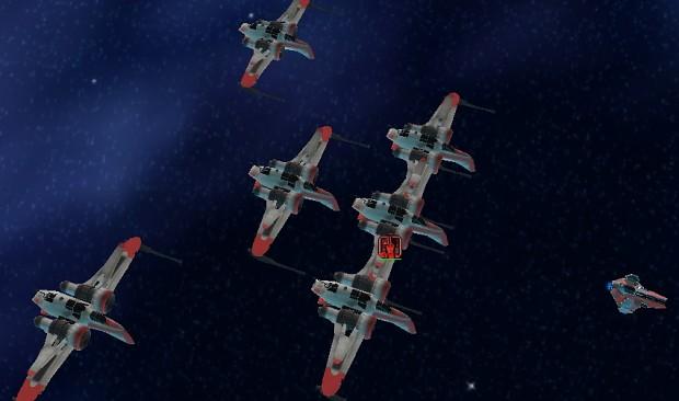 Clone Wars era starfighters for Rogue Squadron