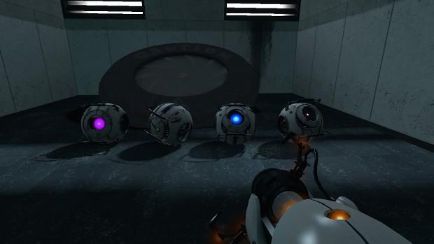 Portal 2 Cores replacement