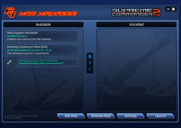OBSOLETE - SC2 Mod Manager RC1A