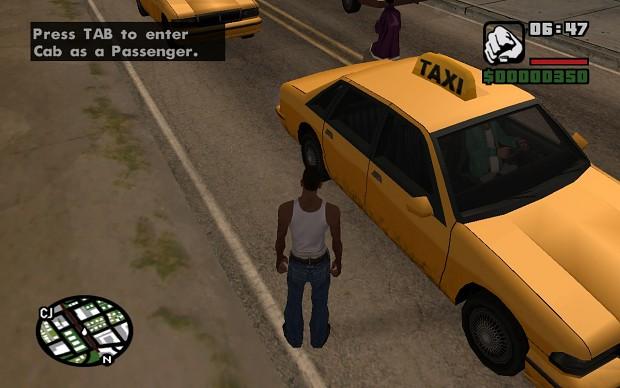 Taxi Ride Mod