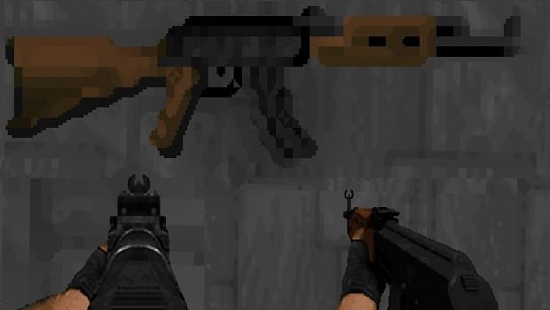 AK47 Assault Rifle v1.2d
