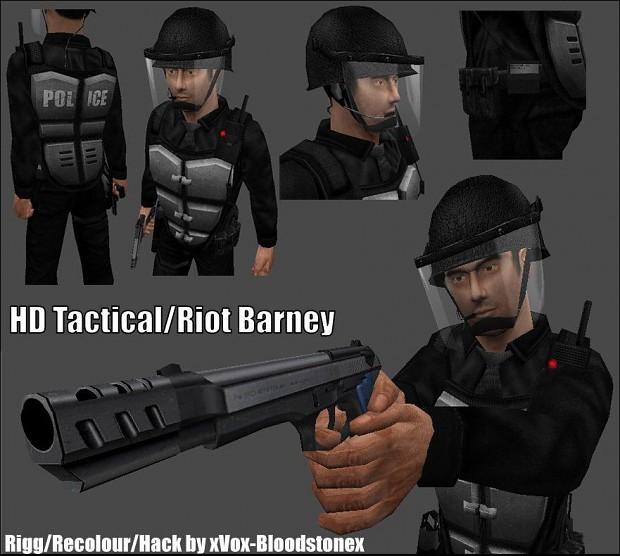 HD Riot Edition Barney