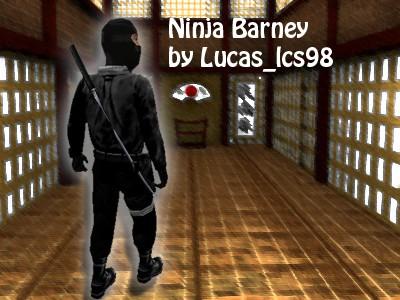 Ninja Barney