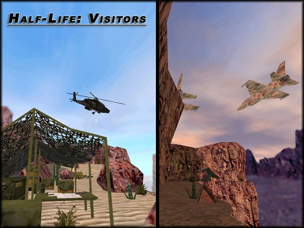 Half-Life: Visitors [SteamPipe Patch]