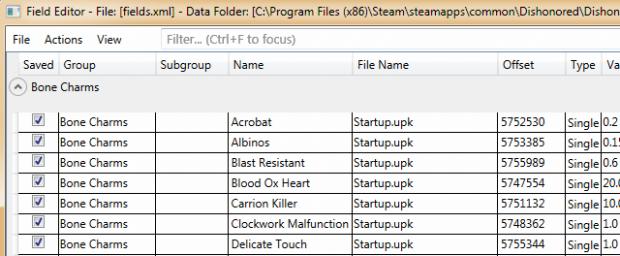 "Field Editor 0.5.1 ""Tautologist tool"""