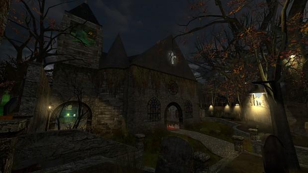 Map: dm_nightmare_church_bm_rc3 [Black Mesa] - New