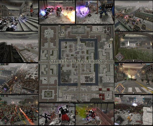 Streets of Magerion DOW:SS map