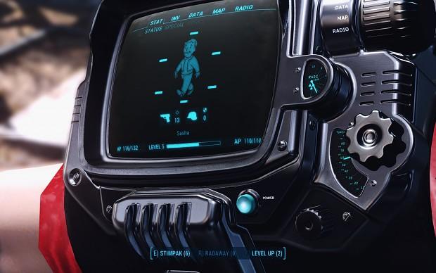 LED Black Pip-Boy Deluxe