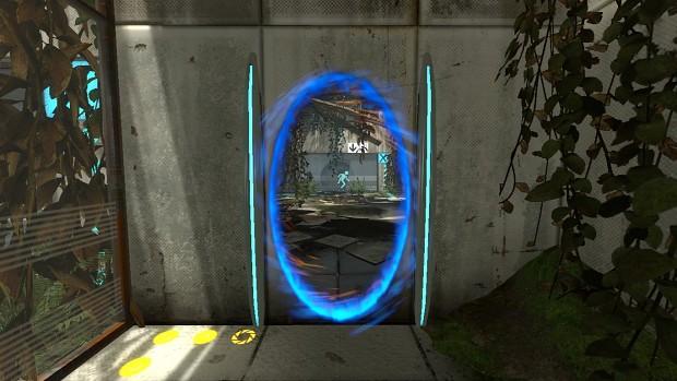 Portal 1 Portal frame replacement