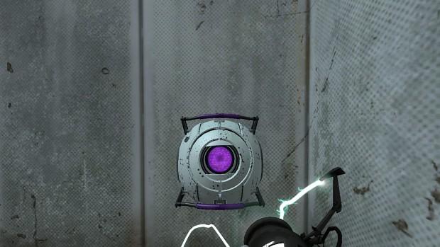 Portal 2 Morality core skin