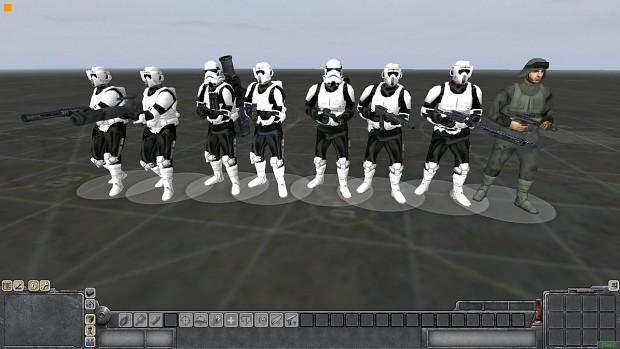 Star Wars skins Imperials