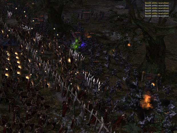 Battle Under the Trees - Mirkwood