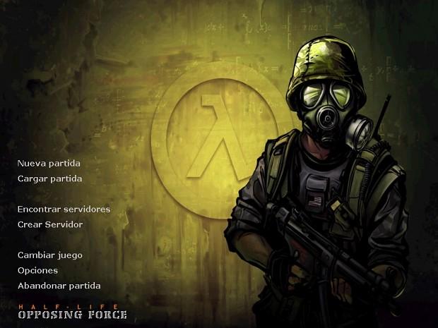 Operation Black Mesa: Menu Background + Theme