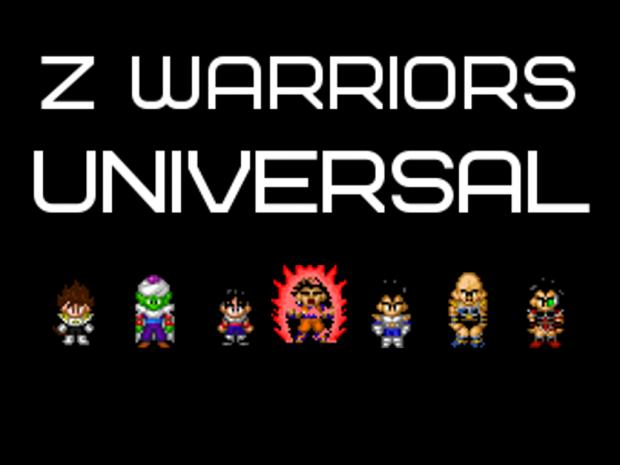 Z Warriors: Universal