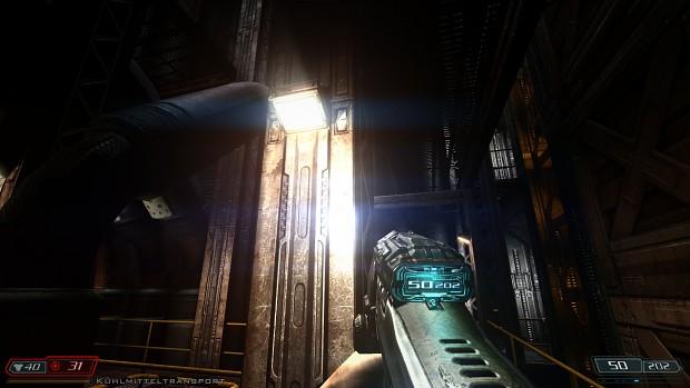 Immersive ReShade for Doom3 BFG