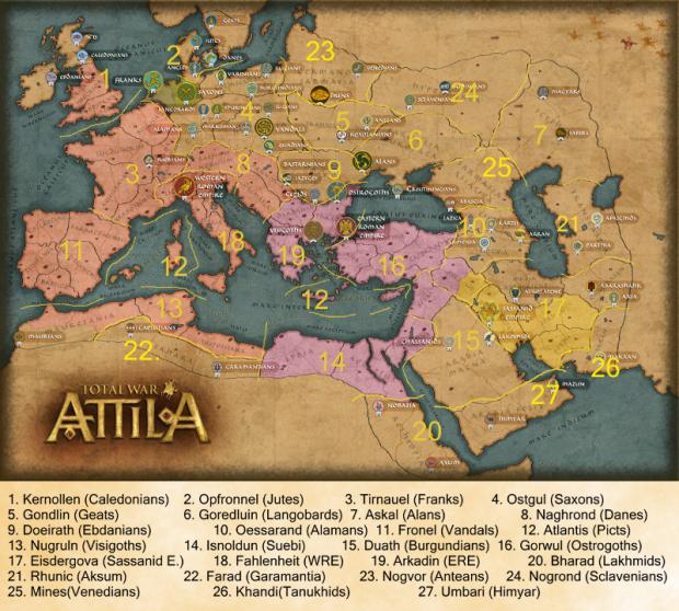 Kingdoms of Unknown Age