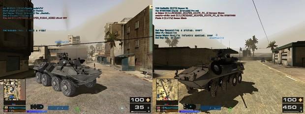 BTR90 & LAV25 BF3