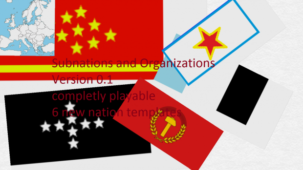 Subnations and Organizations Version 0.1