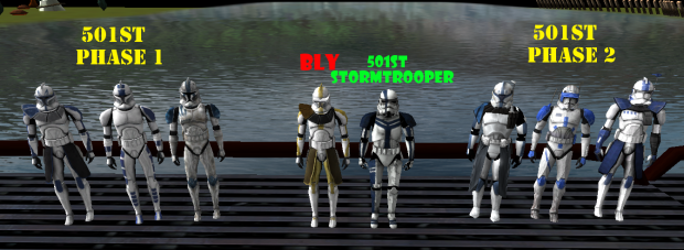 501st Clones + Bly