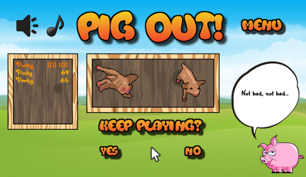Pig Out! version 1.1