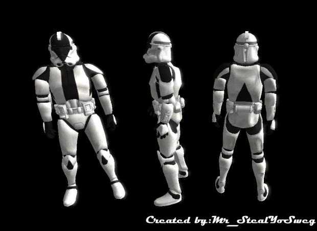 custom clone skin