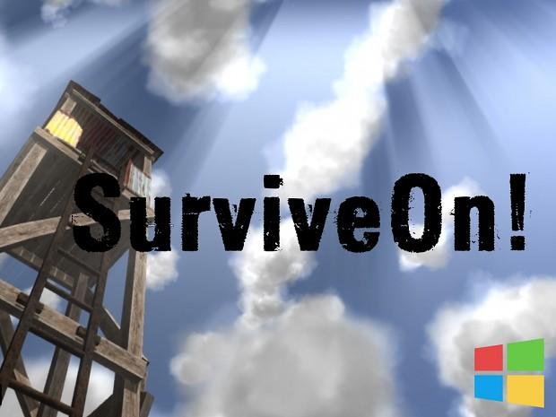 SurviveOn! - Alpha 0.3.1 [Windows]