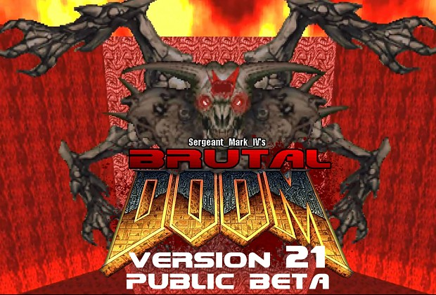 Brutal Doom v21 Public Beta April 2018