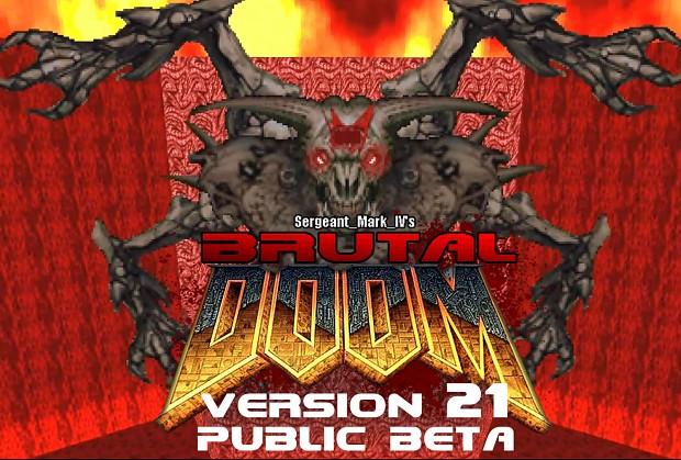 Brutal Doom v21 Public Beta April 2018