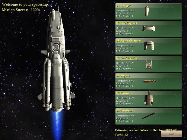 Space Race Mod Civilization IV BTS