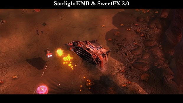 StarlightENB with SweetFX 2.0 - AotR