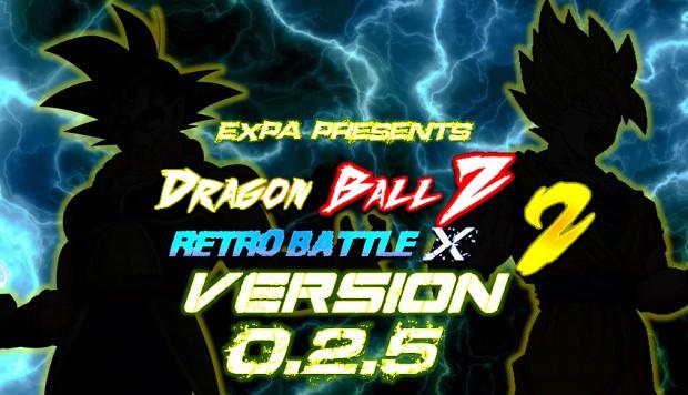 Dragon Ball Z : Retro Battle X 2 (V0.2.5)