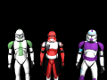 Fox, 187th clone, and Green Company clone