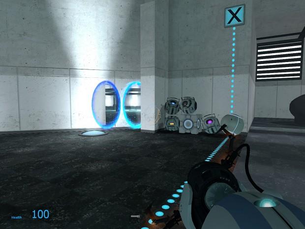 Portal 2 Skinpack for Portal 1 v1.3 BETA