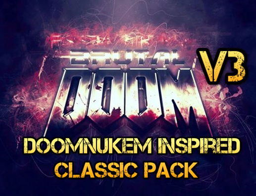 DoomNukem Inspired Classic And Modern Kind of Pack
