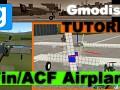 Gmod Airplane Expression2: SetAng & MassCentre