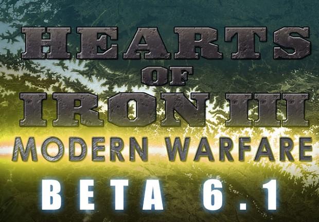Modern Warfare Beta 6.1 [Hearts of Iron III]