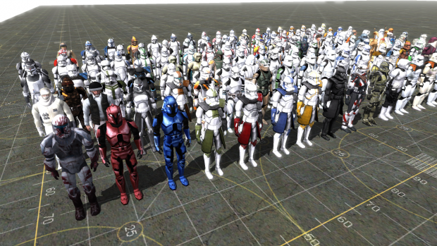 Star Wars SKin Pack 0.1v