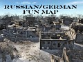 Russian/German Fun Map (small map) with Map Clips