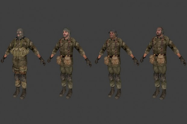 COD4 Spetsnaz Force T pack