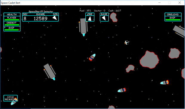 Space Cadet Bert 0.0.2