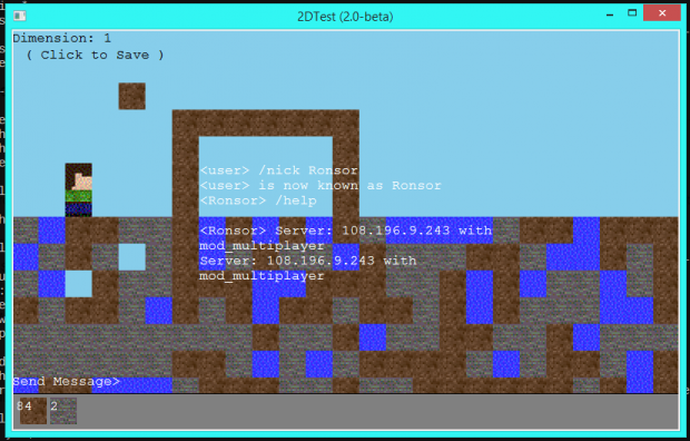 2Dtest v2.0-beta